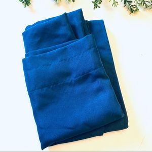 Dark blue set of 2 curtain panels 28x84in